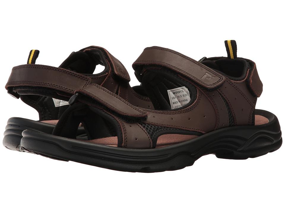Propet - Daytona (Brown) Men's Sandals