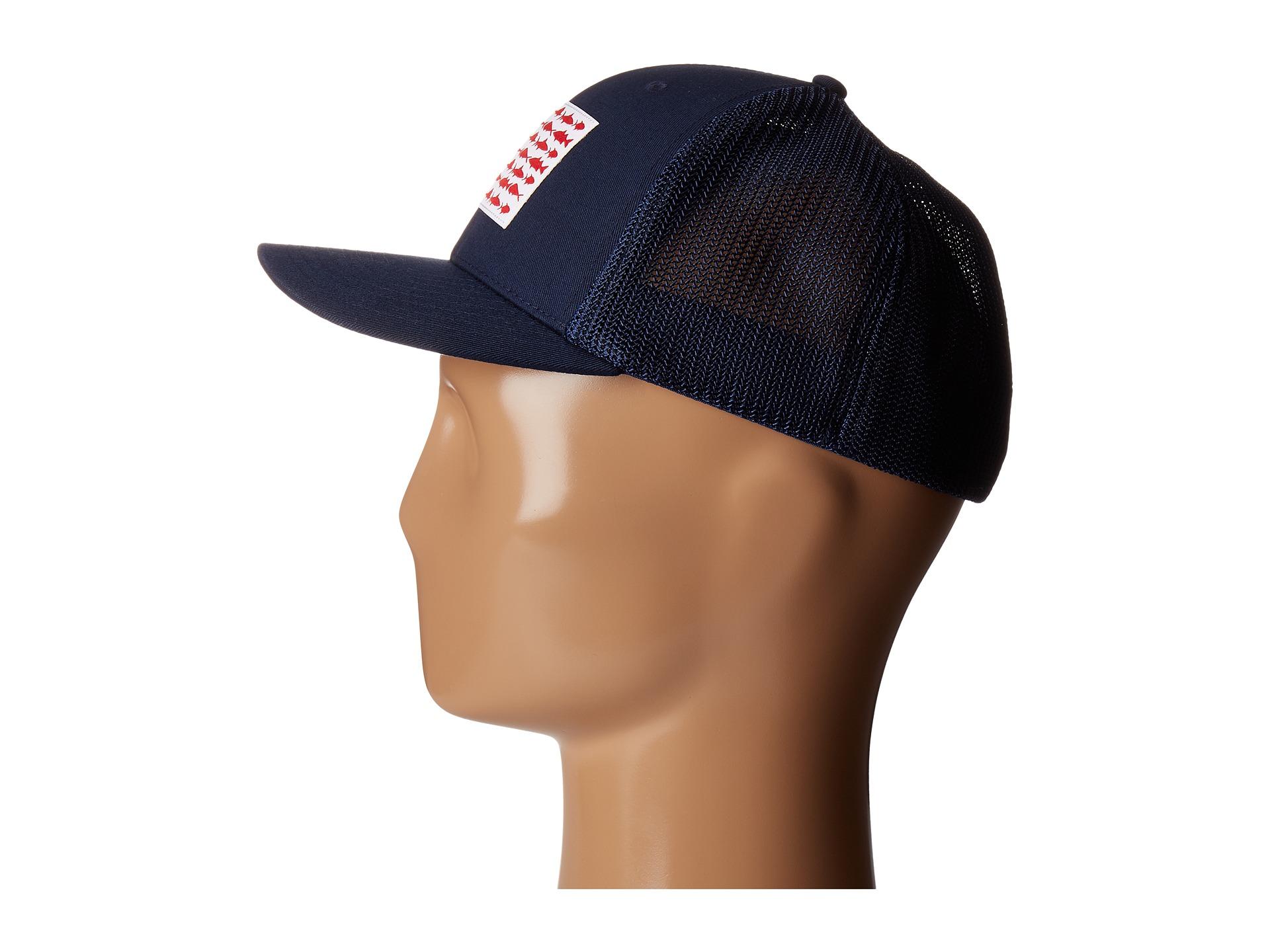 Columbia pfg mesh ball cap at for Columbia fish flag hat