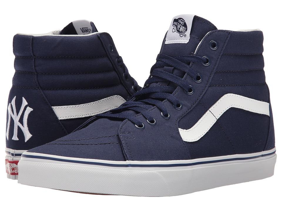 Vans - SK8-Hi ((MLB) New York Yankees/Navy) Skate Shoes