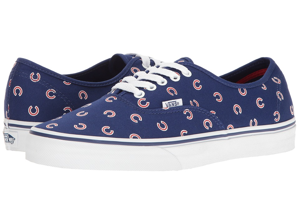 Vans Authentic x MLB ((MLB) Chicago Cubs/Blue) Shoes