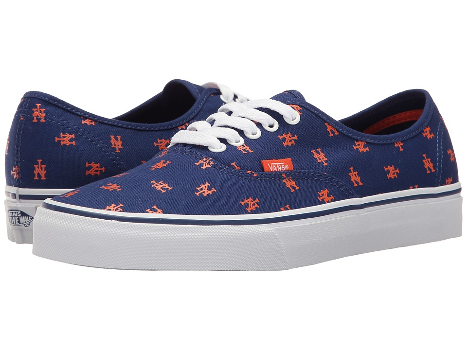 Vans Authentic x MLB ((MLB) New York Mets/Blue) Shoes