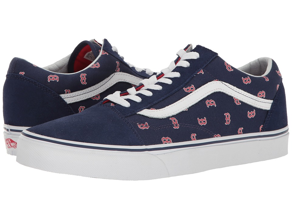 Vans Old Skooltm ((MLB) Boston Red Sox/Navy) Skate Shoes