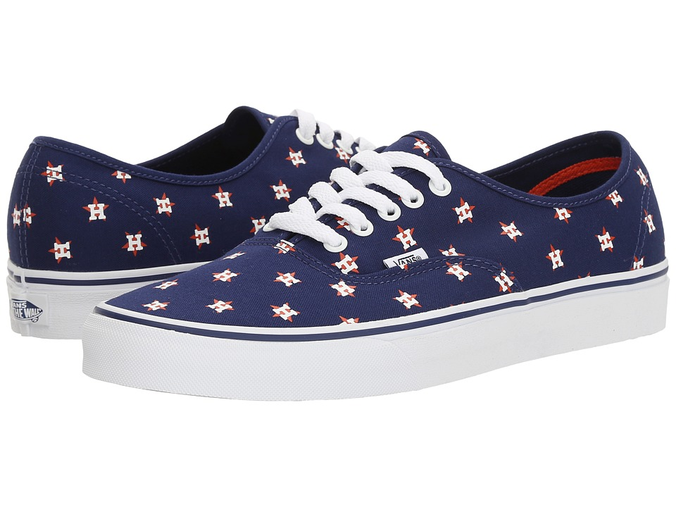 Vans Authentic x MLB ((MLB) Houston Astros/Navy) Shoes