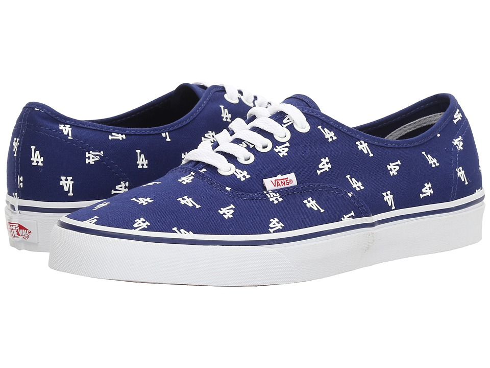 Vans Authentic x MLB ((MLB) Los Angeles Dodgers/Blue) Shoes