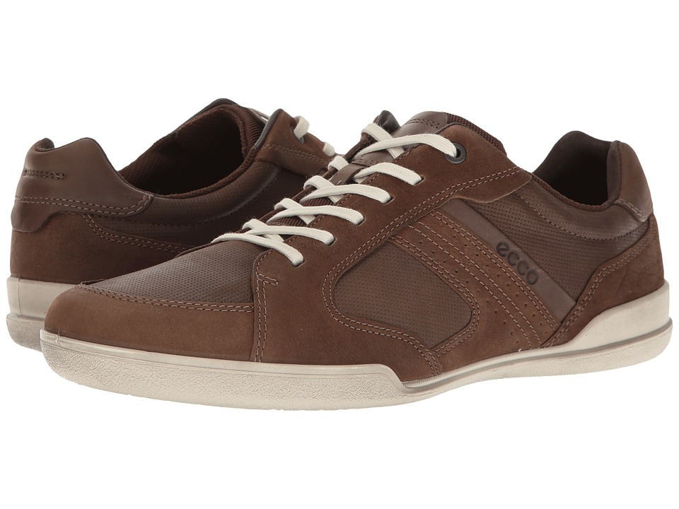 ECCO Enrico Sneaker (Camel/Coffee) Men