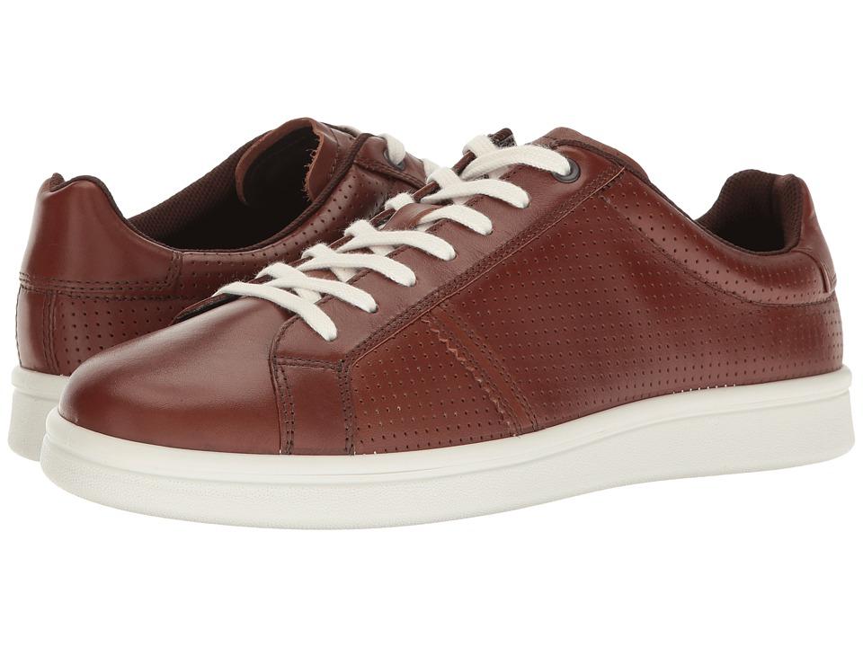 ECCO Kallum Premium Sneaker (Whiskey) Men