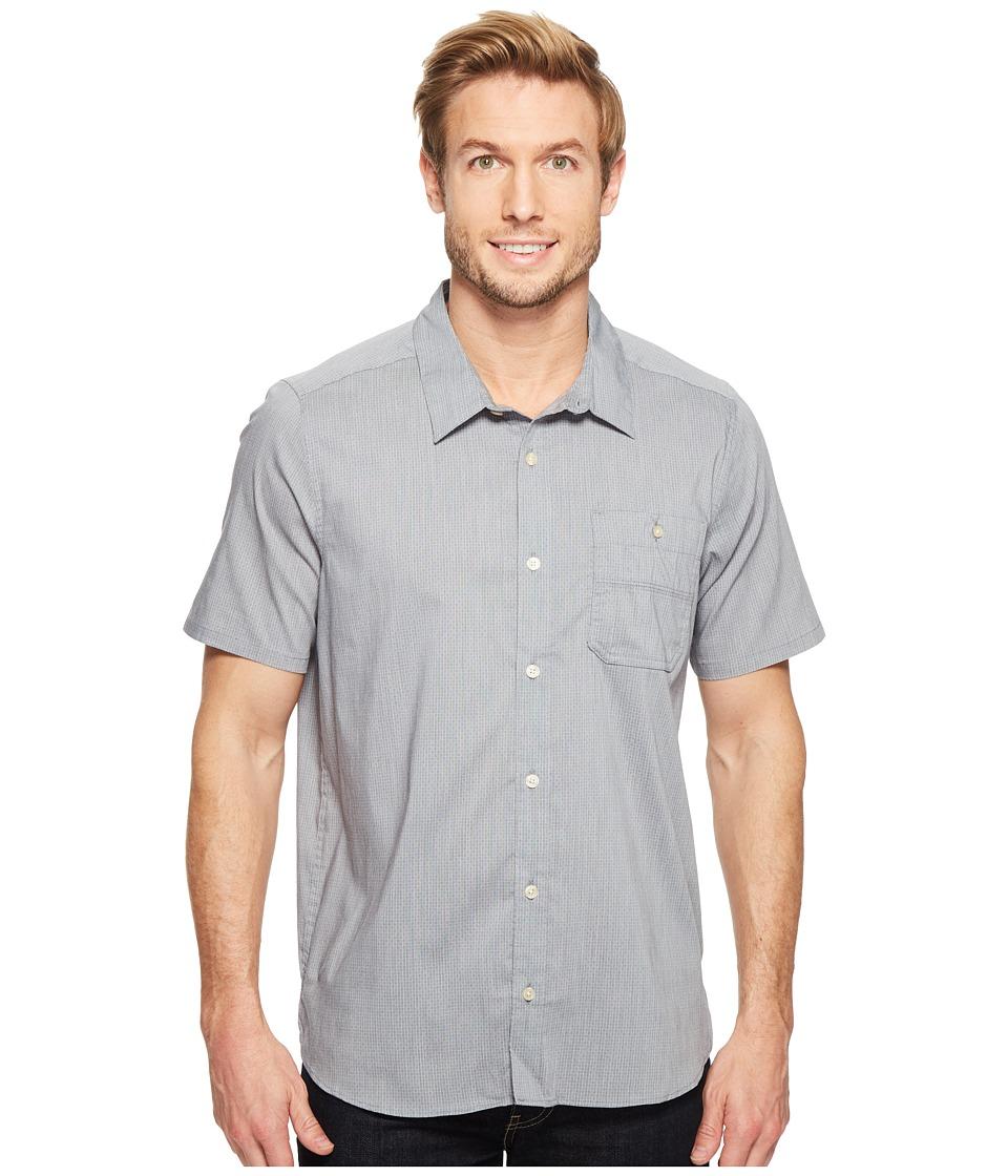 Toad&Co Panorama Chambray Short Sleeve Shirt (Deep Navy) Men