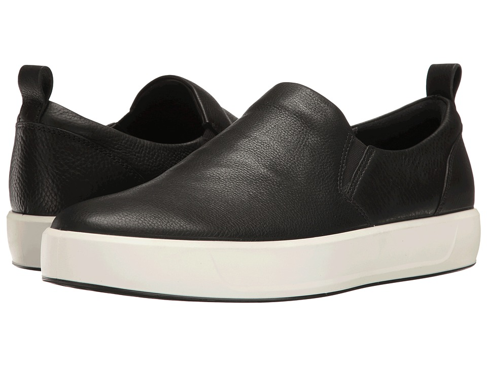 ECCO Soft 8 Slip-On (Black) Men
