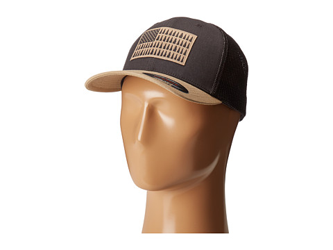 Columbia Columbia Mesh™ Ballcap - Shark/British Tan Tree Patch