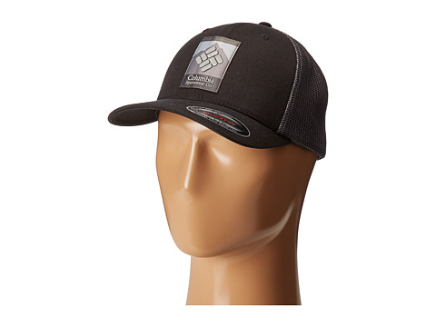 Columbia Columbia Mesh™ Ballcap - Black/Columbia Patch