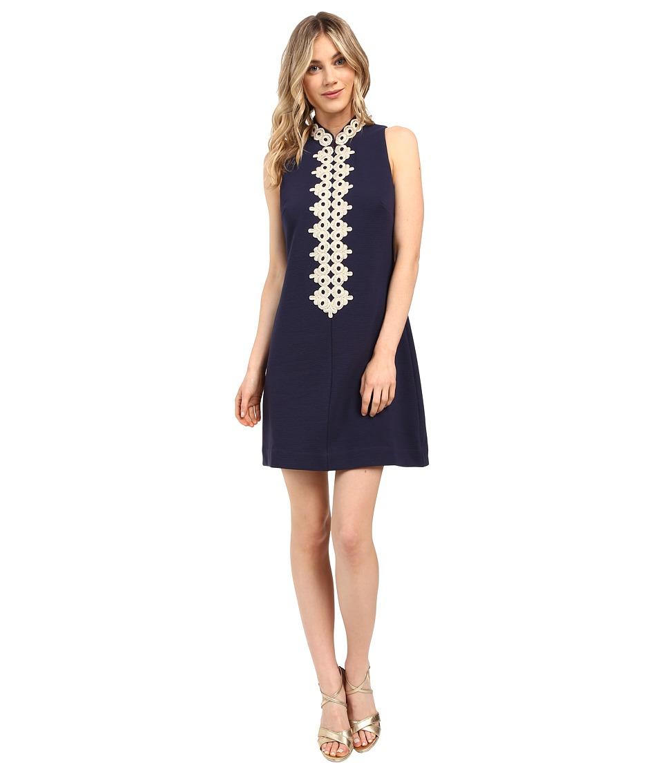 Lilly Pulitzer Callista Shift Dress (True Navy) Women