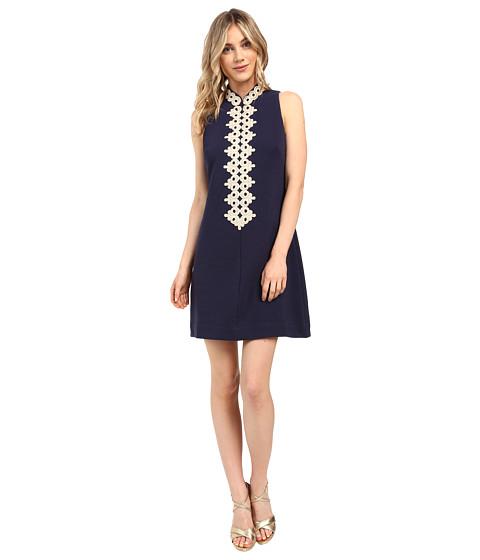Lilly Pulitzer - Callista Shift Dress (True Navy) Women's Dress