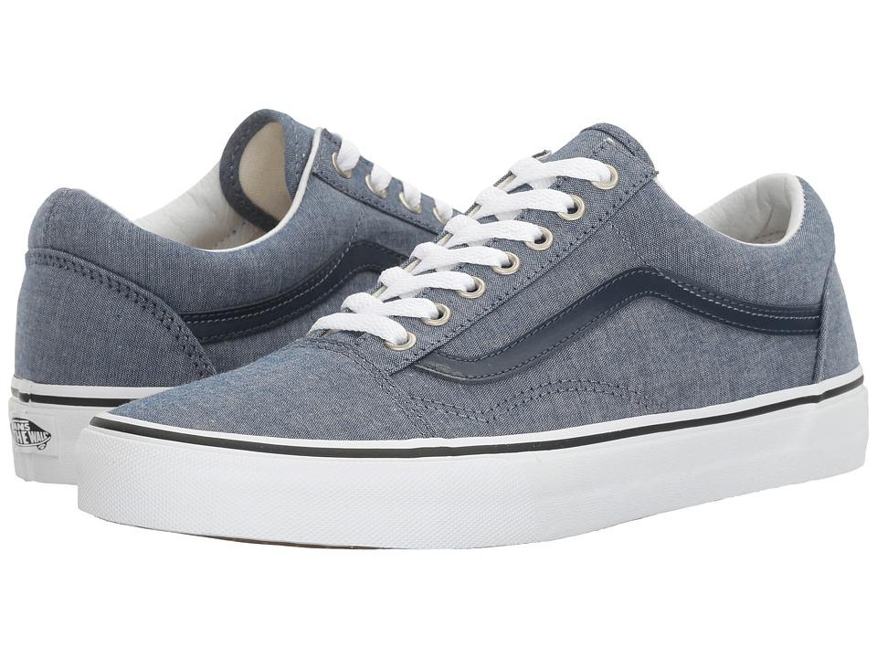 Vans - Old Skool ((C&L) Chambray/Blue) Skate Shoes