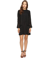 Adelyn Rae - Long Sleeve Drop Waist Shirtdress