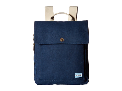 TOMS Trekker Backpack - Navy Canvas