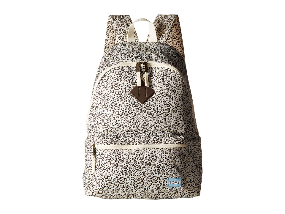 TOMS Local Backpack (Bobcat Chocolate) Backpack Bags