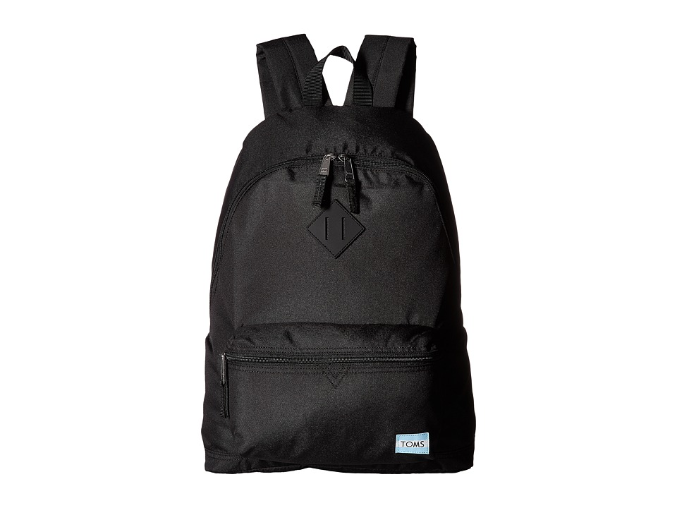 TOMS Local Backpack (Black Nylon) Backpack Bags