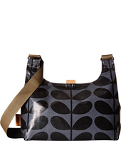Orla Kiely - Shiny Laminated Solid Stem Print Mini Sling Bag