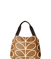 Orla Kiely - Matt Laminated Giant Linear Stem Print Classic Zip Shoulder Bag