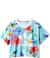 adidas Originals Kids - Flower C Tee (Toddler/Little Kids/Big Kids)