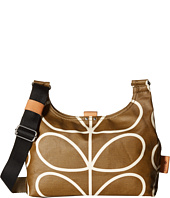 Orla Kiely - Matt Laminated Giant Linear Stem Print Mini Sling Bag