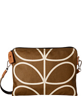 Orla Kiely - Matt Laminated Giant Linear Stem Print Travel Pouch