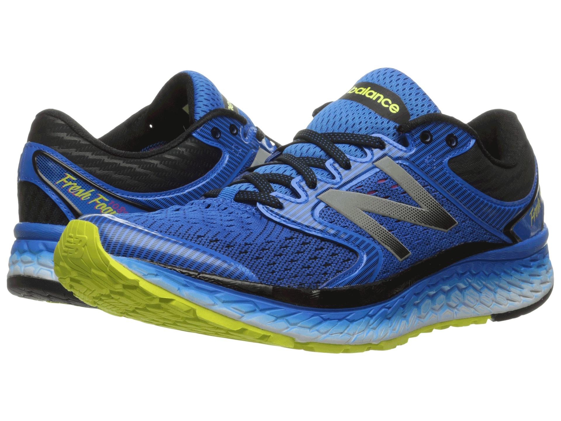 New Balance Fresh Foam  V Men S Shoes Blue Hi Lite