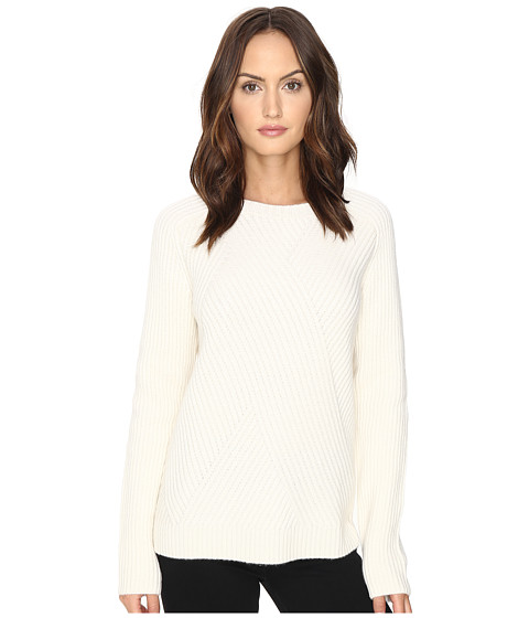 Cashmere In Love Tabitha Ribbed Pattern Pullover