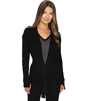 Cashmere In Love - Tayla Ribbed Open Front Cardigan
