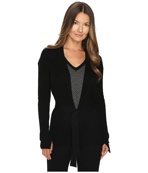 Cashmere In Love Tayla Ribbed Open Front Cardigan
