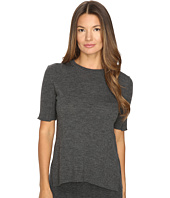 Cashmere In Love - Sahar Open Sides Ribbed Tee