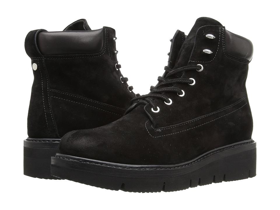 rag & bone Camden Boots (Black Suede) Women