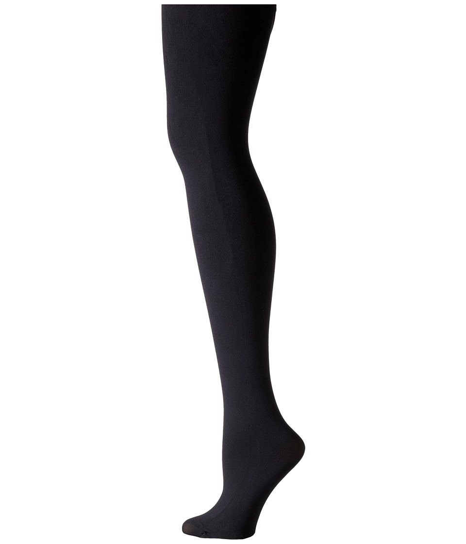 Pretty Polly - 60D Opaque Ladder Resist Light Compression Tights (Black) Hose