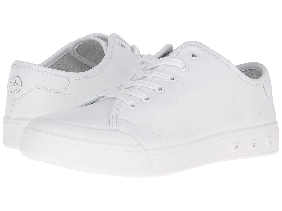 rag & bone Standard Issue Lace-Up (White Leather) Women