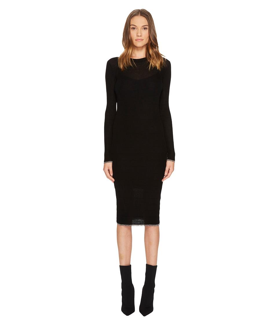 Cashmere In Love - Tiera Fine Knit Featherweight Dress (B...