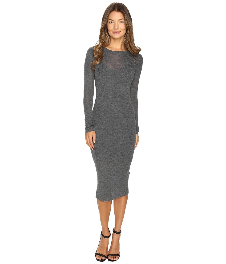 Cashmere In Love - Tiera Fine Knit Featherweight Dress (D...