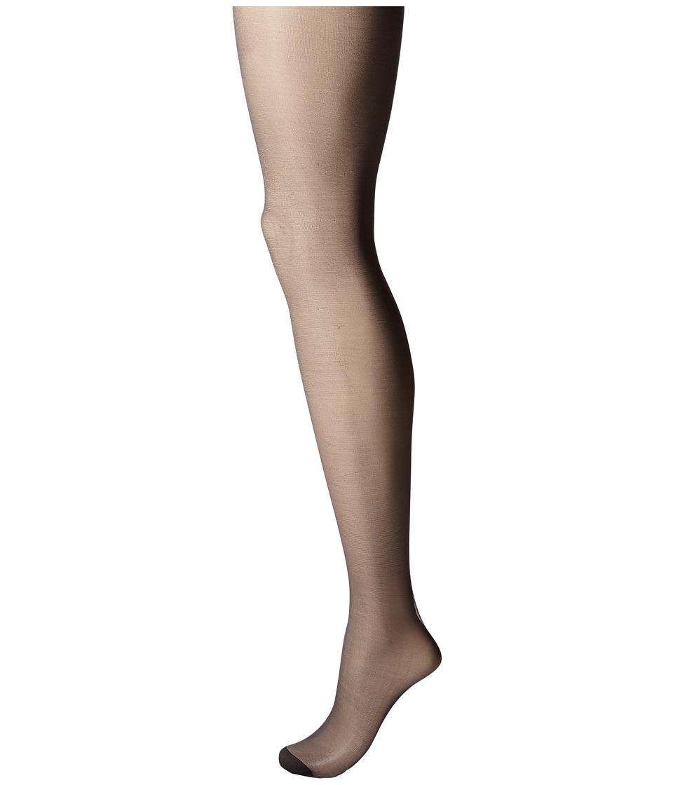 Pretty Polly - Nylons 10 Denier Slimmer Gloss Tights (Black) Hose