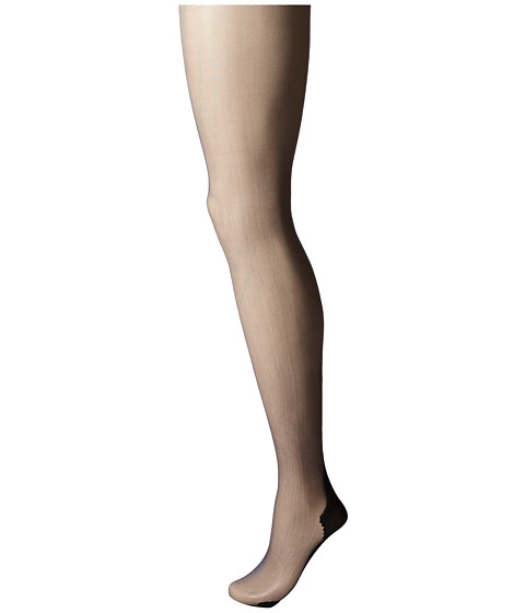 Pretty Polly Nylons 10 Denier Backseam Gloss Tights - Black