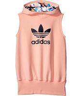 adidas Originals Kids - Trefoil Swt Dress (Toddler/Little Kids/Big Kids)