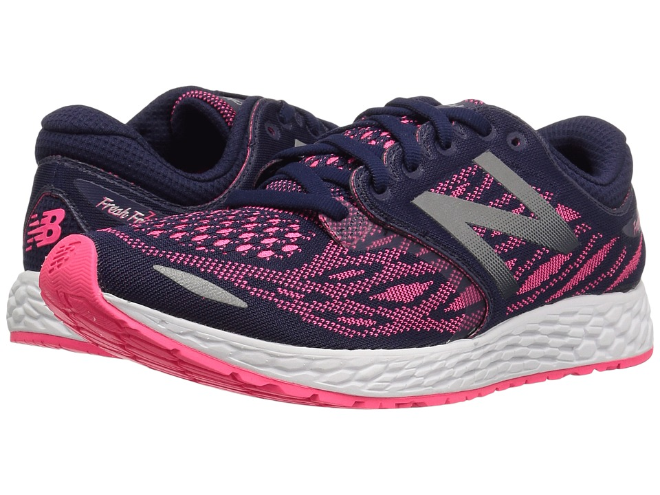 New Balance Fresh Foam Zante V3 (Dark Denim/Alpha Pink) Women