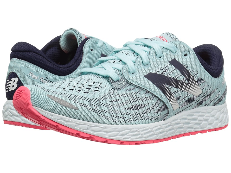 New Balance - Fresh Foam Zante V3 (Ozone Blue/Bright Cherry) Womens Running Shoes