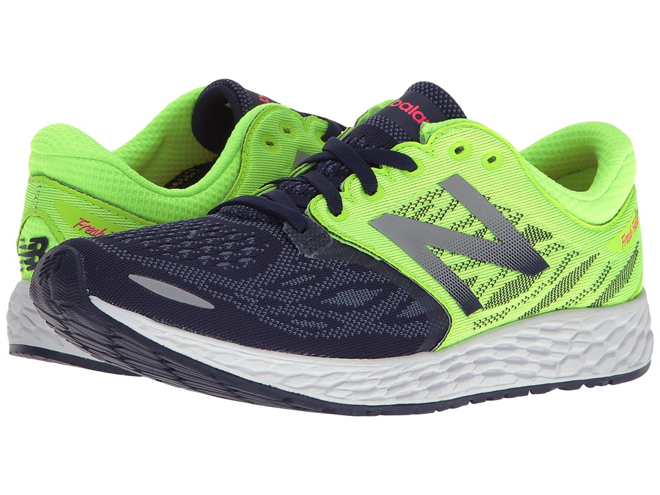 New Balance Fresh Foam Zante V3 (Dark Denim/Lime Glo) Women