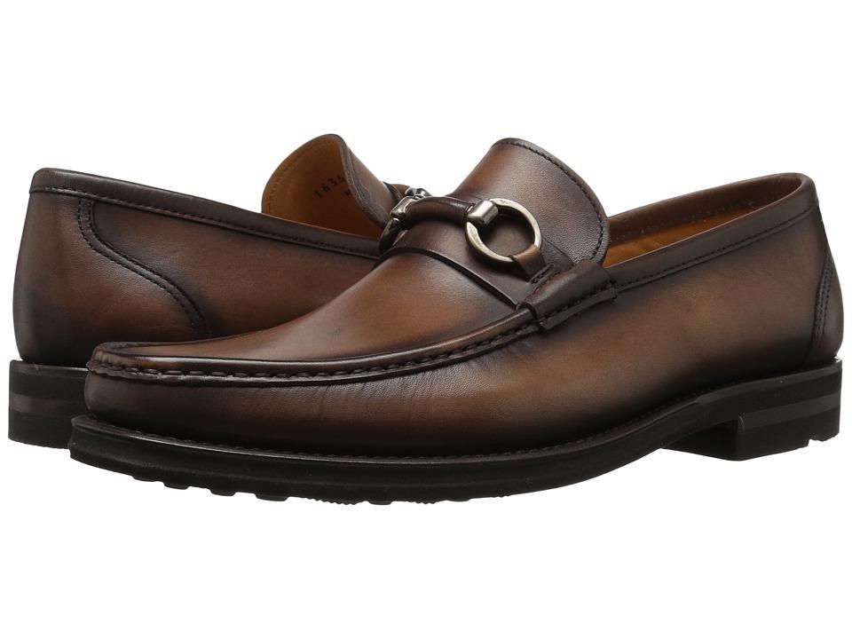 Magnanni Mastoro (Mid Brown Leather) Men