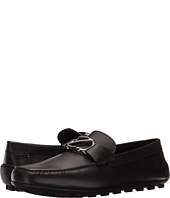 Z Zegna - Smooth Calf Logo Driver