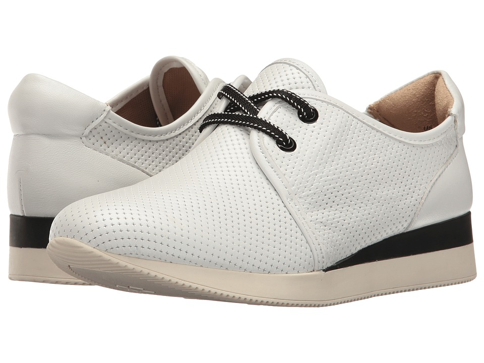 Naturalizer Jaque (White Leather) Women