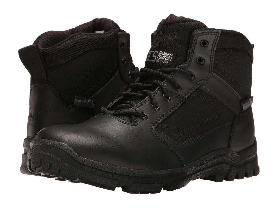 Danner Lookout 5.5 Plain Toe (Black) Men