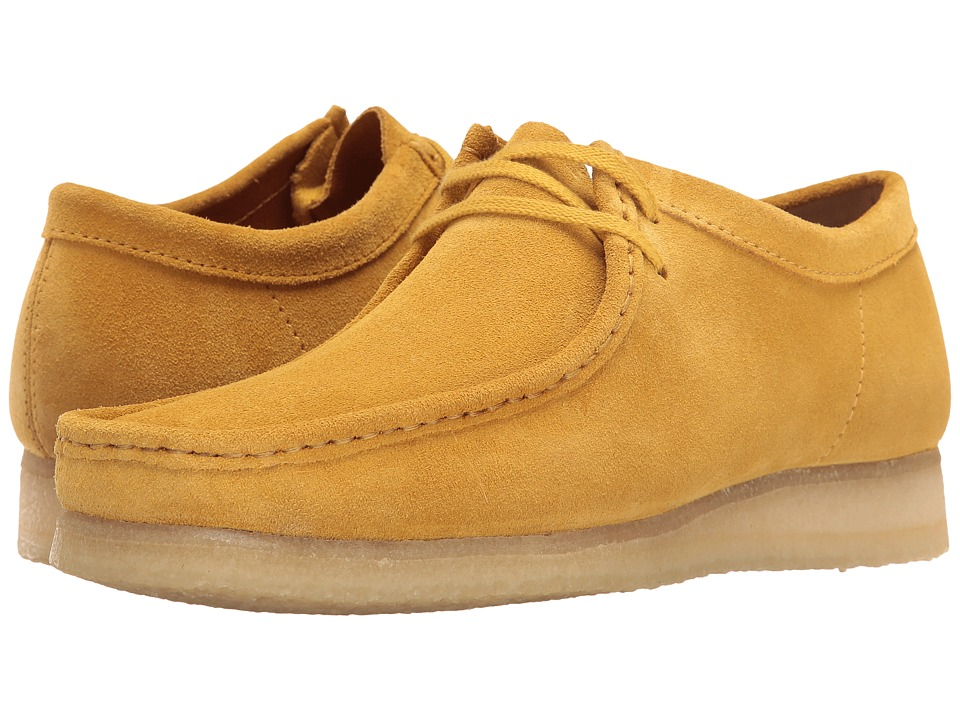 Clarks Wallabee (Ochre Suede) Men