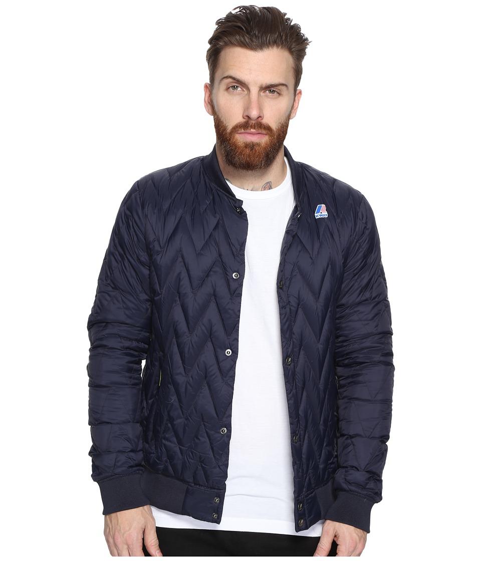 K-WAY Louis Light Thermo Jacket (Depth Blue) Men