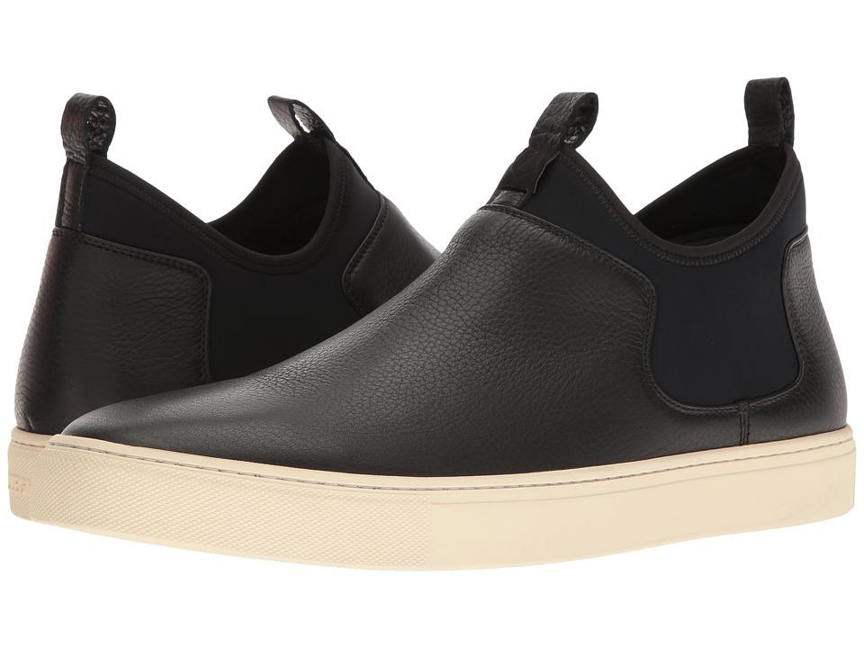 Z Zegna - Scuba Pull-On Sneaker (Black) Mens Shoes