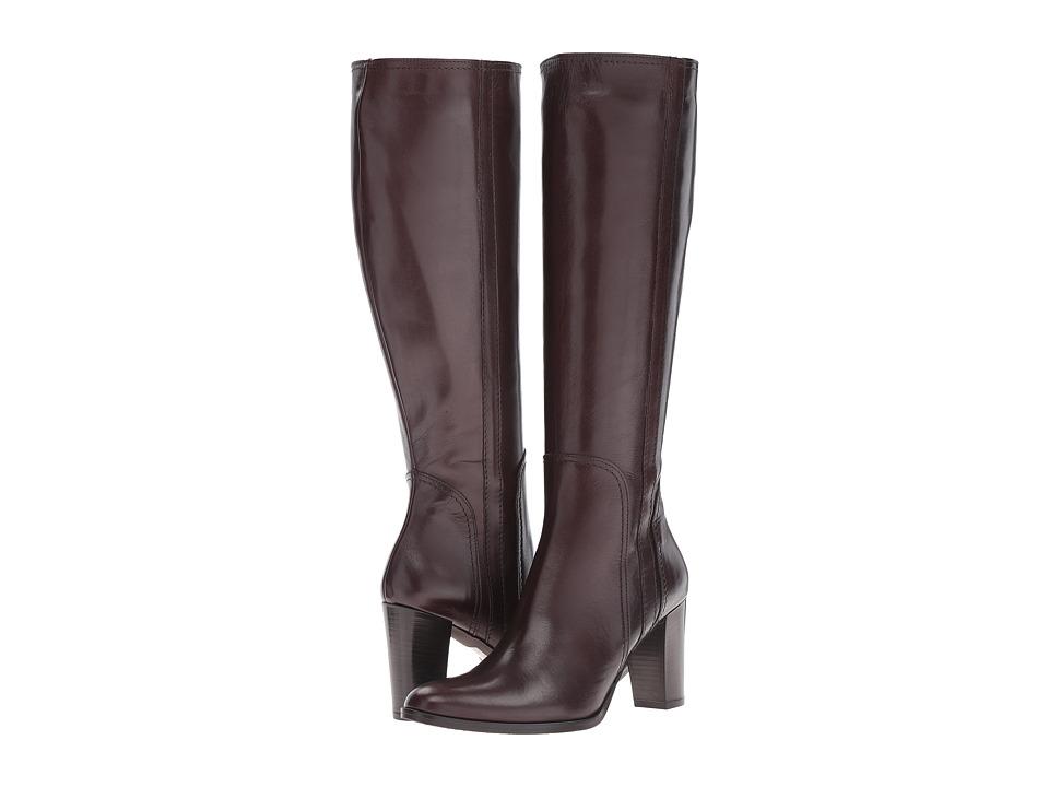 Massimo Matteo Side Zip Heel Boot 16 (Brown Suede) Women
